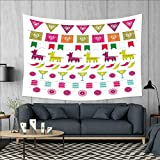 Best Latin Party In The Worlds - smallbeefly Fiesta Tapestry Wall Hanging 3D Printing Latin Review