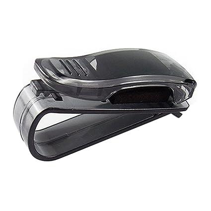 Vehicles Car Auto Sun Visor Glasses Sunglasses Card Ticket Holder Clip Black