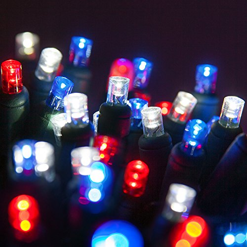 Red And Green Led Outdoor Christmas Lights - 9