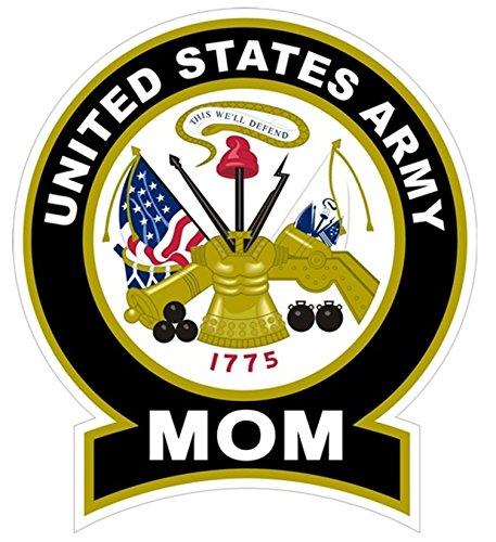1 Pc Topnotch Fashionable United States Army Mom Sticker Signs Windows Vinyl Car Decal Size 4 5  X 5