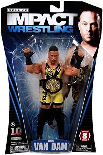 TNA Wrestling Deluxe Impact Series 8 Action Figure Rob Van Dam [Toy]