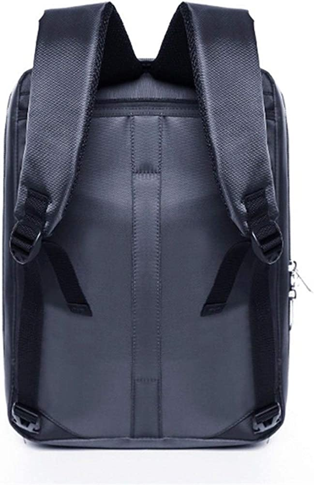 Laptop Backpack with Threesome Multi-Functional Handbag Business Backpack Raincoat Laptop Bag Color : Gray, Size : XL