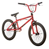 "Mongoose Boys R1740KMA Raid 20"" Freestyle Bike, Red"