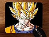 Super Saiyan Goku Desktop Mouse Pad by Superior Printing