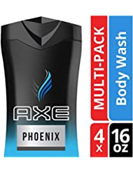 AXE Body Wash for Men, Phoenix, 16 oz, 4 Count