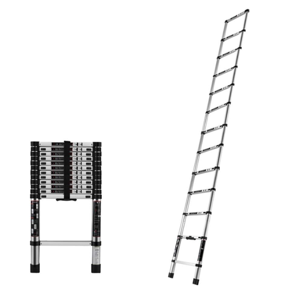 ZR 折り畳み梯子, 伸縮梯子、アルミストレート梯子 - 拡張折りたたみ式ステップ庭、屋外、清潔のため(EN131を満たしています) アウトドア伸縮はしご (サイズ さいず : Straight ladder-2m) B07NMG3SRZ  Straight ladder-2m