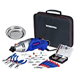 Best Rotary Tool With Accessories Kits - WORKPRO Multi-function Rotary Tool Kit Variable Speed Review