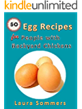 50 Egg Recipes For People With Backyard Chickens: Quiche, frittatas, breakfast burritos and many more recipes to be used with eggs from your backyard chickens.