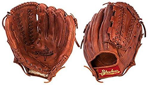 Shoeless Joe Gloves V-Lace Brown Glove, 12-Inch, Left Handed ()