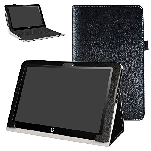 Mama Mouth PU Leather Folio 2-Folding Stand Case Cover for 10.1