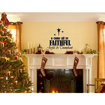 Amazon.com: Christmas Decoration Wall Decals Jesus Christ King of ...