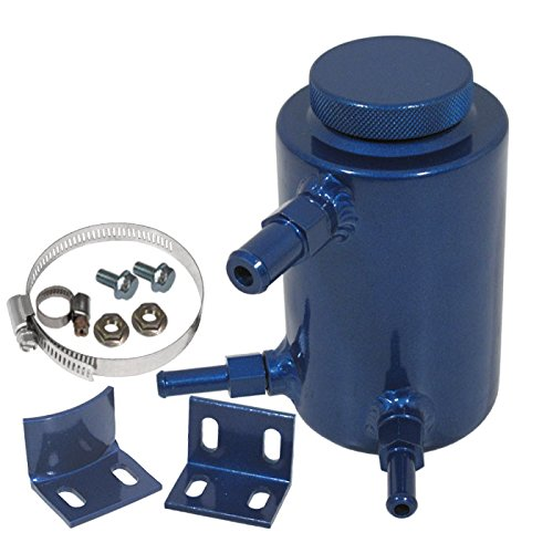 Morakot Racing - Universal Aluminum Power Steering Can Fluid Reservoir Oil Catch Tank (Aluminum Power Steering Tank)