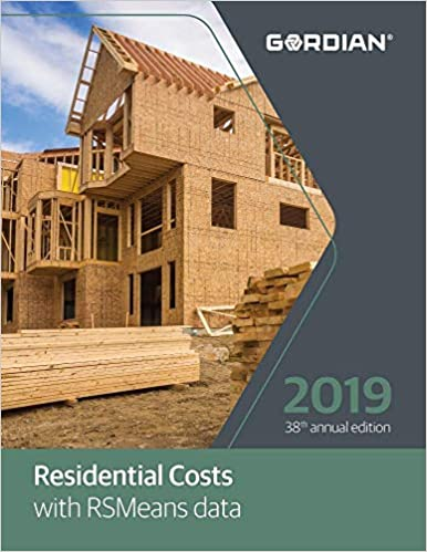 Residential Costs With RSMeans Data 2019: Thomas Lane: 9781946872661