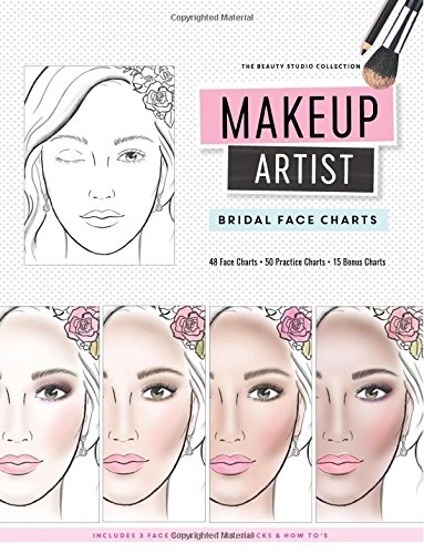 Makeup Artist Bridal Face Charts  The Beauty Studio Collection Band 6