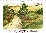 Der AQUARELL-Kalender (Wandkalender 2014 DIN A4 quer): Mit ausgewählten Aquarellen durch die Zeiten des Jahres (Monatskalender, 14 Seiten)