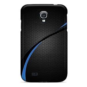 Corentry LjfSjMk3854rcZwz Case Cover Galaxy S4 Protective Case Carbon Blue Wave