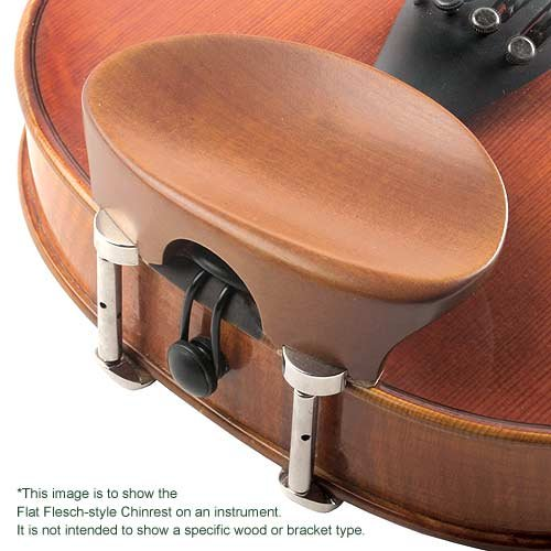 Flesch All-Size Viola Chinrest - Boxwood with Standard Bracket by JSI (Image #1)