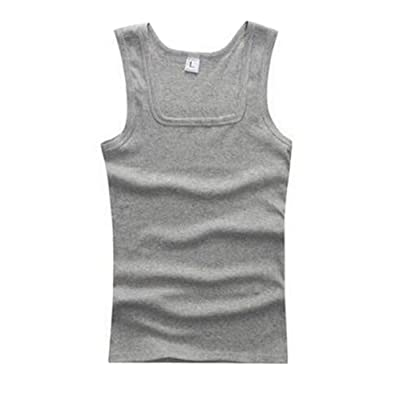 LALANG Men Vest Tops Fitness Bodybuilding Tank Tops Undershirts
