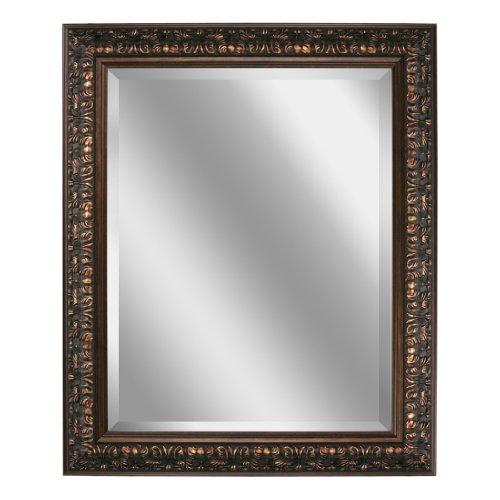 Head West Bronze Ornate Mirror, 28-1/2 by -
