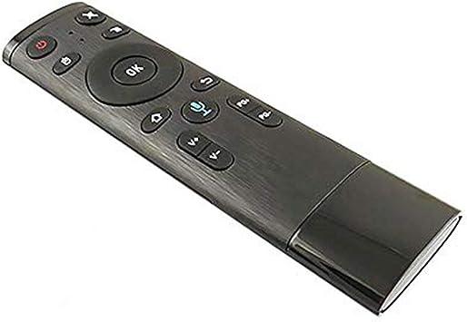 Pgige Control Remoto inalámbrico de Voz 2.4G Air Mouse Mini Teclado inalámbrico Control Remoto Universal Interfaz USB Control Remoto: Amazon.es: Electrónica