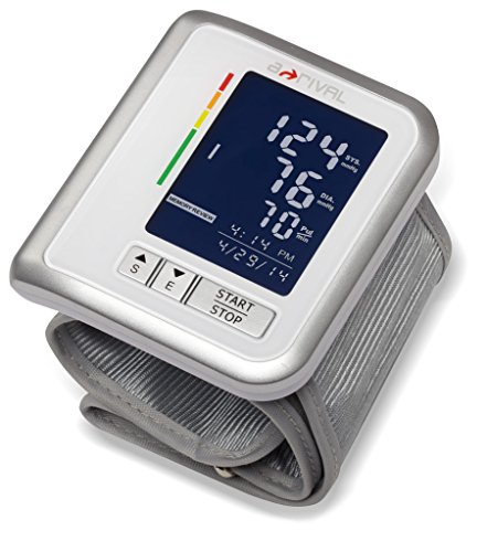 a-rival sQanU HGBM01 Mobiles Handgelenk Blutdruckmessgerät mit 2,2