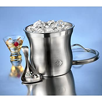 Caphalon Barware Stainless Steel Ice Bucket Set 1