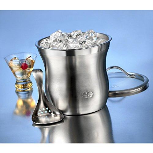 Caphalon Barware Stainless Steel Ice Bucket Set by Calphalon (Image #1)