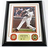 Barry Bonds Game Used Collection Photo Bat Coin Highland Mint Framed DF024898 - MLB Game Used Bats