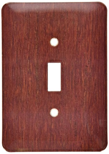 (3dRose lsp_41590_1 Bamboo Cherry Wood Single Toggle Switch)