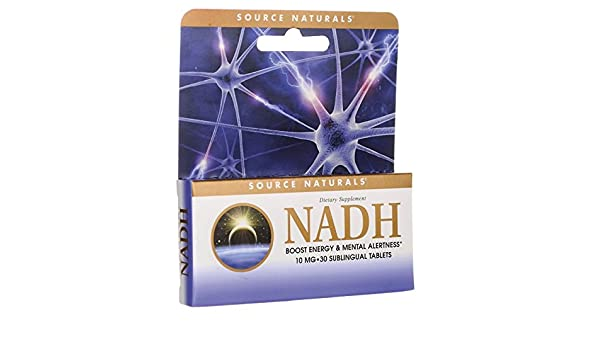 Source Naturals - NADH Sublingual hierbabuena 10 mg. - 30 tabletas: Amazon.es: Salud y cuidado personal