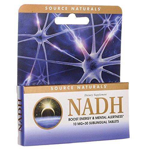 Source Naturals - NADH Sublingual hierbabuena 10 mg. - 30 tabletas: Amazon.es: Salud y cuidado personal