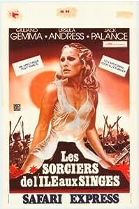 Safari Express Poster Movie Belgian 11x17 Giuliano Gemma Ursula Andress Jack Palance Enzo Bottesini