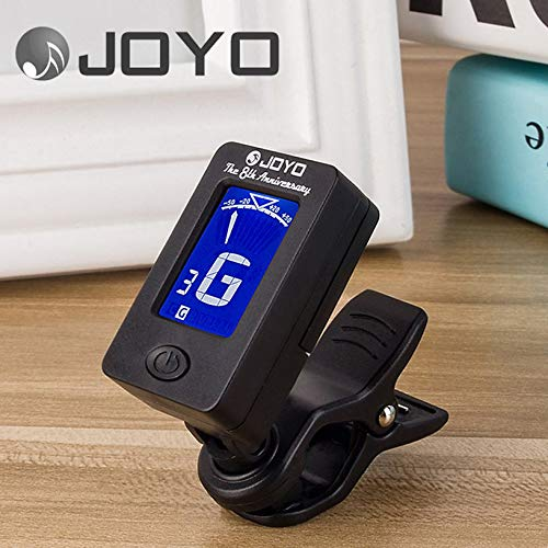 Portable LCD Display Rotatable Ukulele Tuner Clip On Digital Tuner For Guitar Universal Electronic Violin Accessories(JT-02)