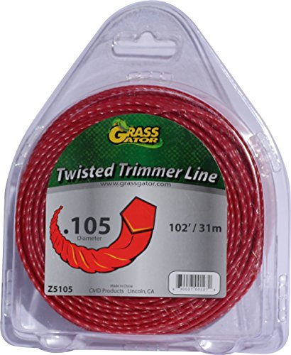 - Grass Gator Z5105 Zip String Trimmer Line Pro Small Donut 102-Feet x .105