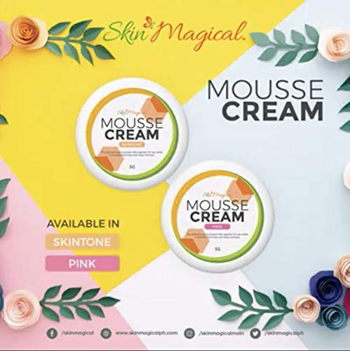 Skin Magical Mousse Cream Tinted Moisturizer with SPF 45, 5g (Pink Tone)
