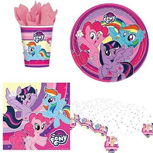 Desconocido MY Little Pony Pack de vajilla de Fiesta para 8: Amazon.es: Juguetes y juegos