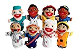 Excellerations Big-Mouth Career Puppets Set of 8 (Item # CARPUP)