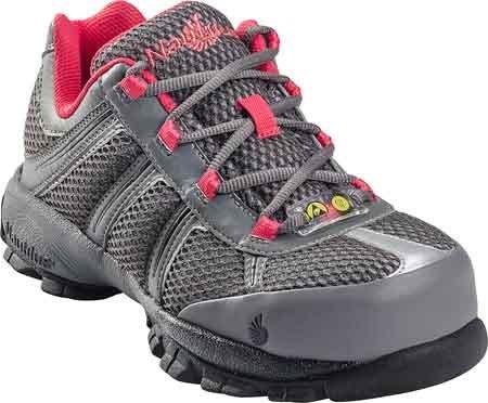Nautilus Safety Footwear Women's 1393 Work Shoe,Grey,10 W US (Shoes For Women Online)