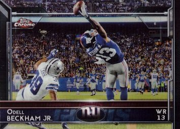 8 Odell Beckham Jr. Football Card – The One-Handed Catch ()