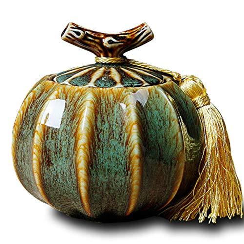 Jumedy El Horno de cerámica se Convierte en un Recipiente de urna Humana - Sellado a Prueba de Humedad - Se Utiliza para...