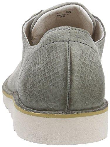 Derby de Cordones Blackstone Mujer Gris Zapatos Gris Ll69 OnWnTpI