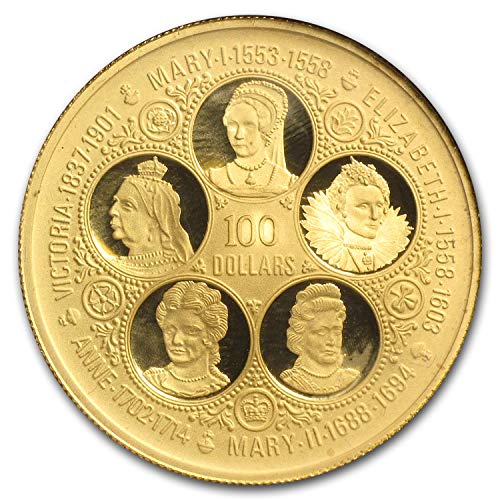 1975 KY Cayman Islands Proof Gold 100 Dollars Gold About Uncirculated