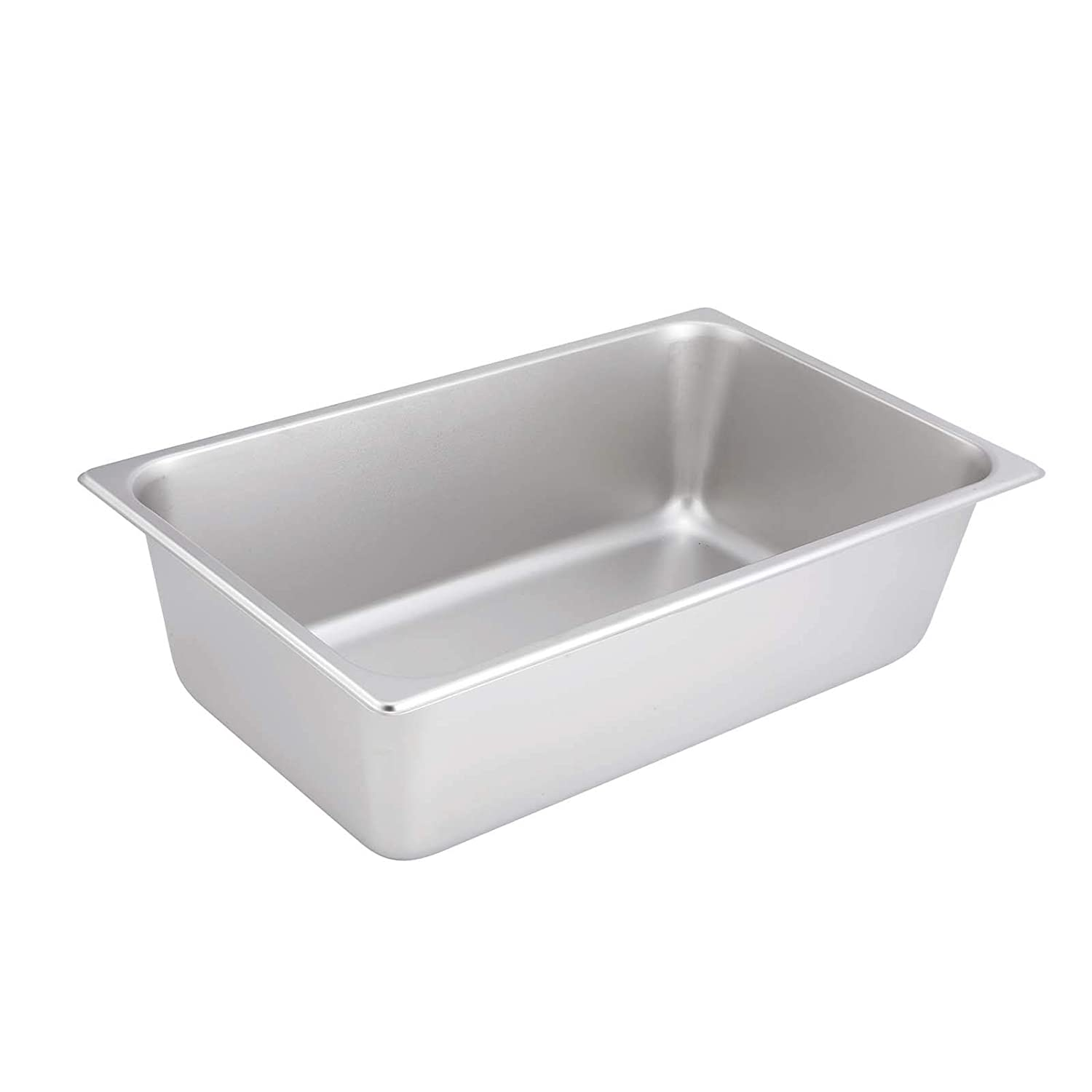 "Winco SPF6, 6-Inch Deep Full Size Steam Table Pan, NSF (20.88""L x 12.88""W x 6.13""H)"