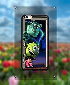 Cute Funda Case For IPhone 6 Plus, Monsters Inc Cartoon Anti Scratch Distinctive Creative Unique Style Plastic & Cool Hard Shell Funda Case For IPhone 6 6s Plus [5.5 inch]