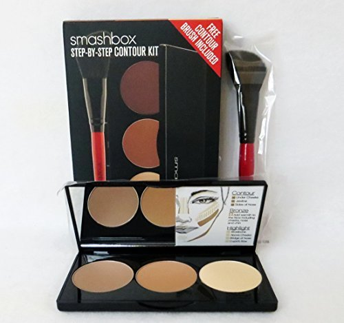 Smashbox Step-by-Step Contour Kit, Medium/Dark, 0.4 Ounce