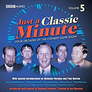 Just a Classic Minute, Volume 5 Radio/TV Program