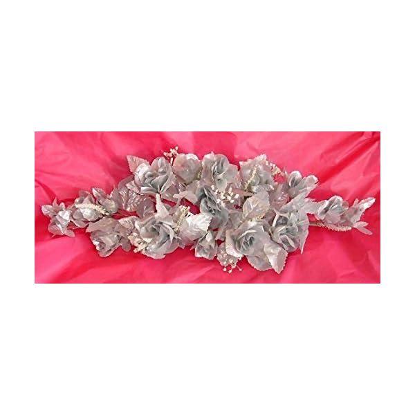 Rose Swags MANY COLORS Silk Wedding Flowers Chuppah Arch Gazebo Centerpiece
