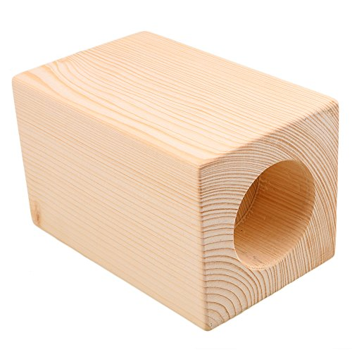 Mxfans 4X Wood Furniture Storage Riser Bed Lifter 5cm Round Hole 4'' Lift Height by Mxfans (Image #1)