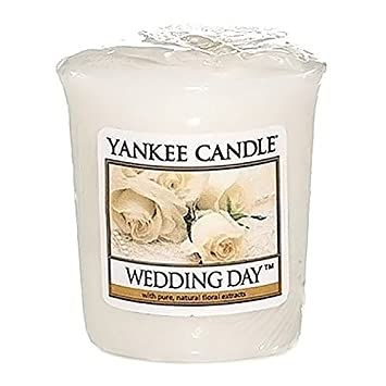 yankee candle wrapped votive wedding day