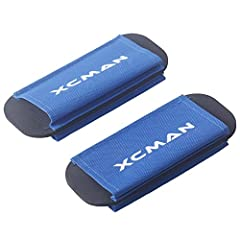 XCMAN Canvas Nordic XC Cross Country Ski Strap Ties With Fleece Padding Ski Base Wrap Straps Protector Carrier              For Nordic Cross Country Ski use, wrist and knee protection. Wrap strap around out of the ski, securin...